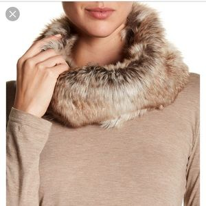 Barney's New York Faux Fur Cowl